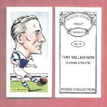 Oldham Athletic Tom Williamson 15 (FC)